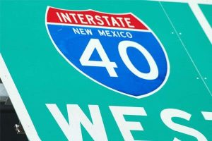 Albuquerque, NM - I-40 Eastbound Site of Accident With Injuries