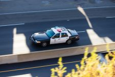 Rio Rancho, NM - Police Car Involved in Crash at Unser & Southern Blvd