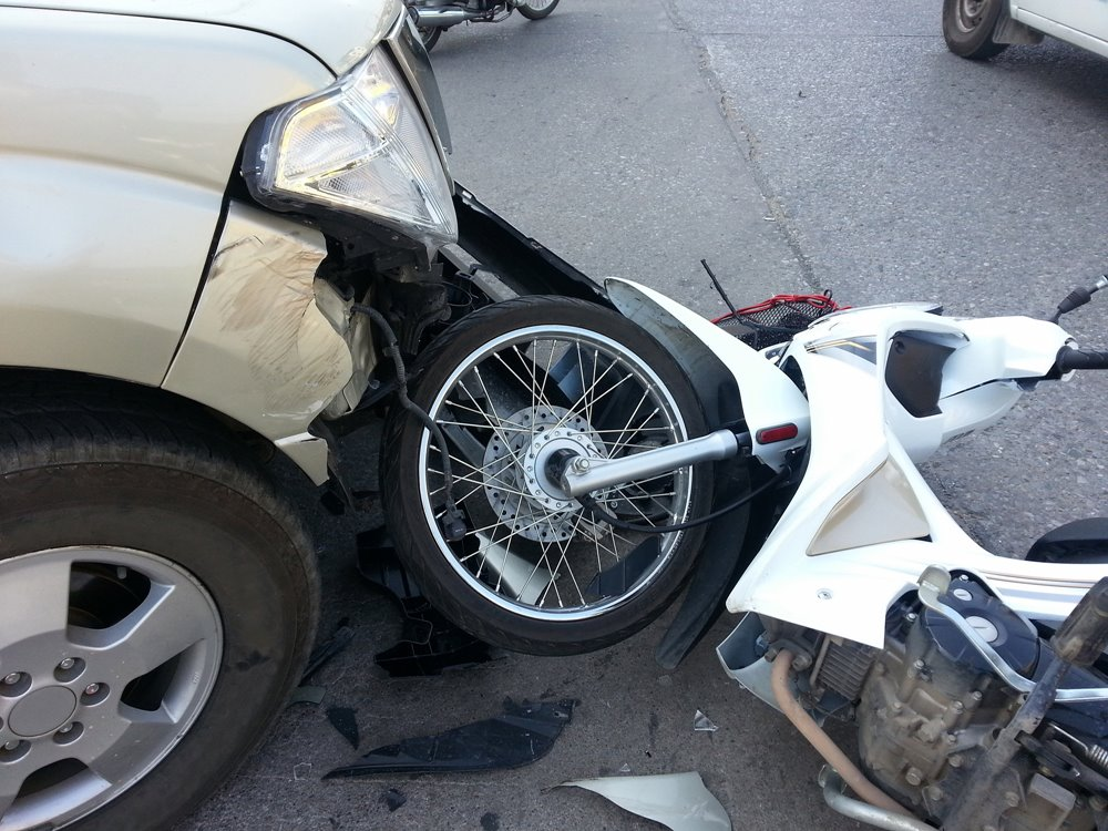 2.28 Albuquerque, NM - Motorcyclist Hurt following Crash at Central Ave & Indiana St