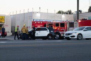 Albuquerque, NM - Medics Sent to Injury Crash at I-25 & Paseo Del Norte